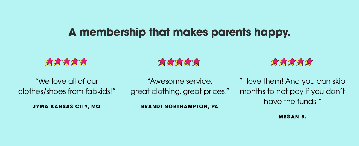A membership that makes parents happy