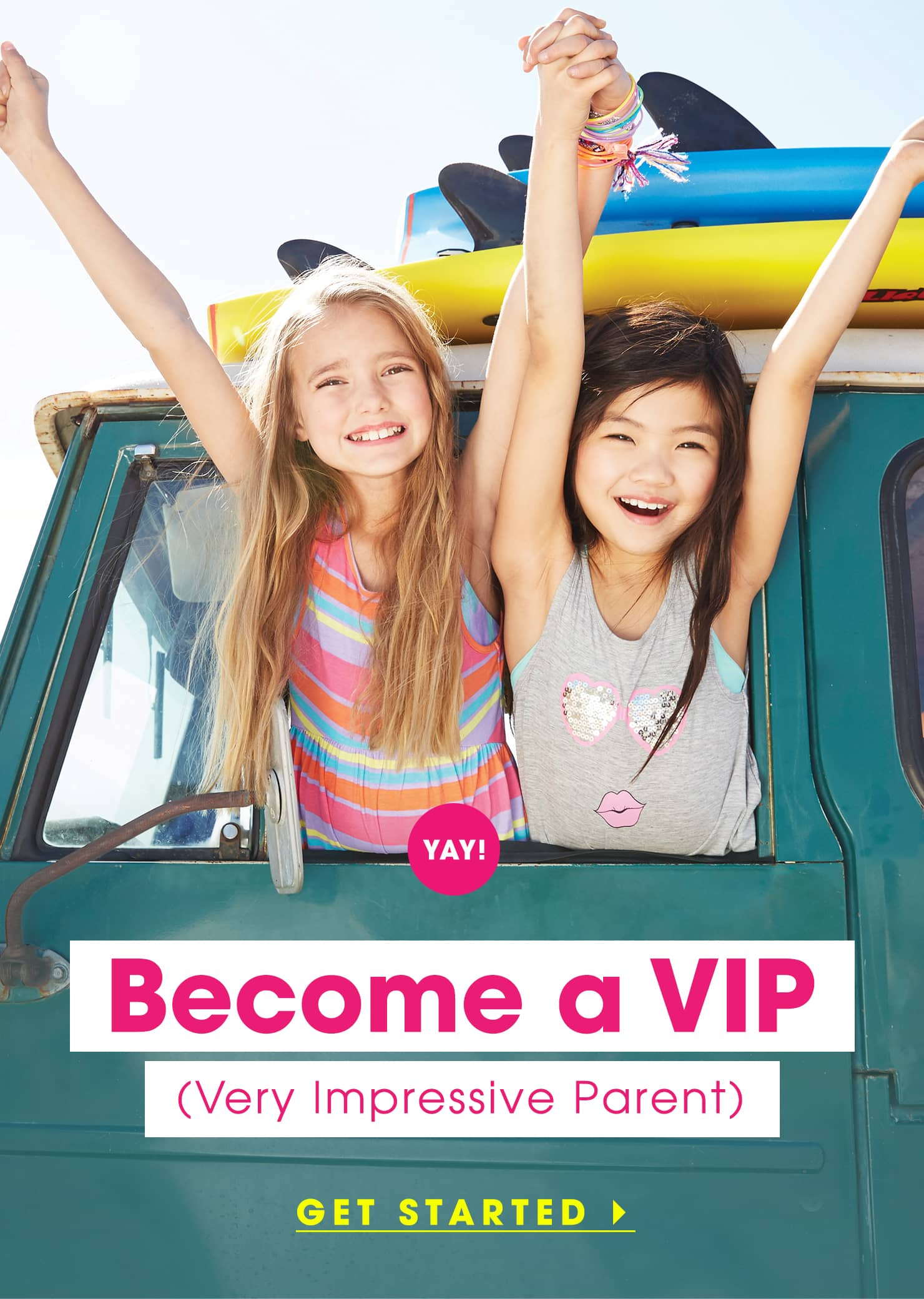 Become a VIP (very important parent)