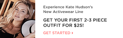Fabletics - Get Your First 2-3 Piece Outfit for $25!