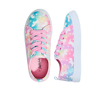Marble Unicorn Lace Up Sneaker