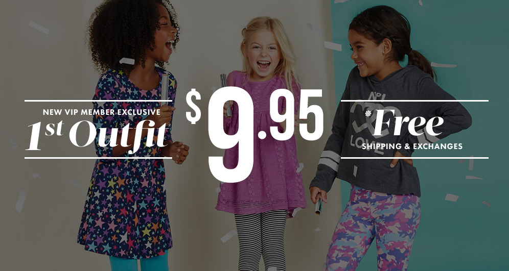 Get Your First Outfit for $9.95!