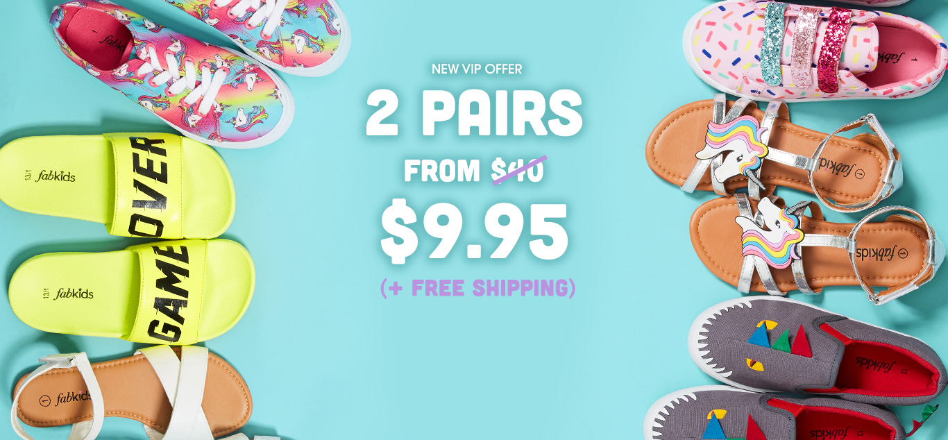 Fabkids: 2 Pairs for $9.95!