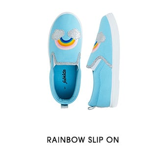 Rainbow Slip On