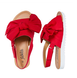 Oversized Bow Sandal