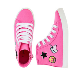 Emoji High Top Sneaker
