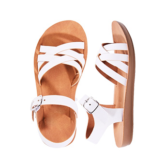 Double Criss Cross Sandal