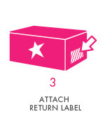 Step 3 - Attach Return Label