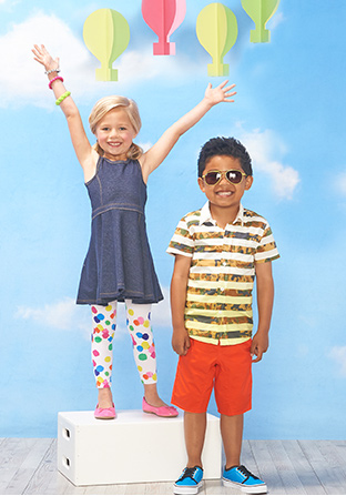 Girl & Boy on Podium