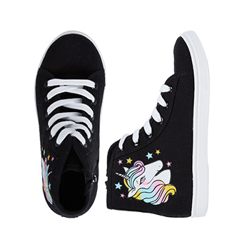 Unicorn High Top Sneakers