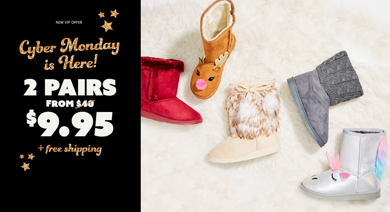 New VIP Member Offer - 2 Pairs from $9.95 + free shipping