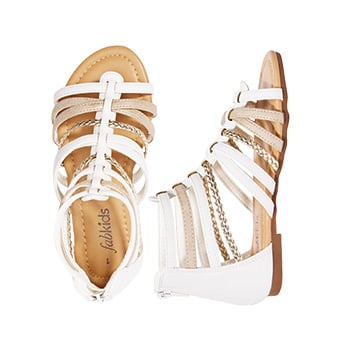 Braided Gladiator Sandal
