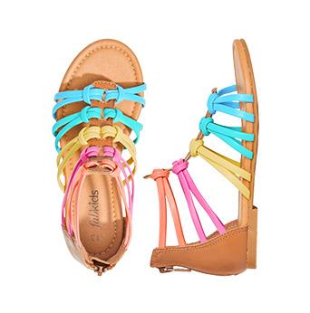 Rainbow Gladiator Sandal