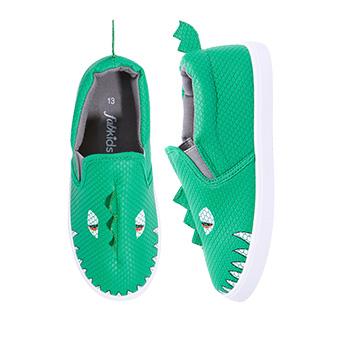 3D Dino Slip On
