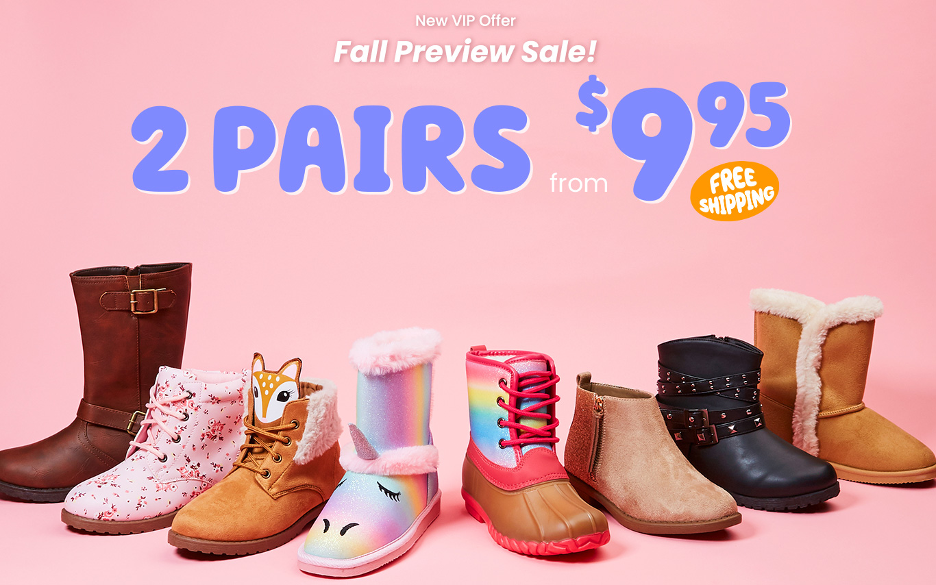 New VIP Offer - 2 Pairs from $9.95 + free shipping