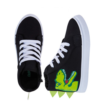 3D Dino Face High Top Sneaker