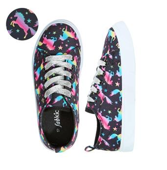 Unicorn Bright Lace Up Sneaker