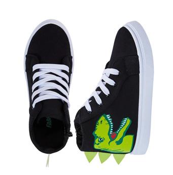 3D Dino Face High Top Sneaker