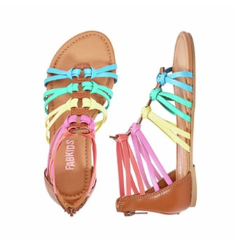 Double Loop Gladiator Sandal