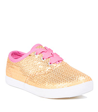 Gold Sequin Shoes - Alternate View