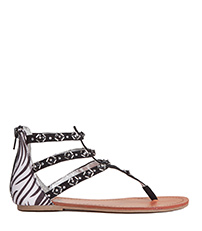 Zebra Sandals - Alternate View
