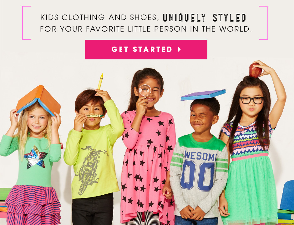 Kids clothing & shoes uniquely styled for your favorite little person in the world