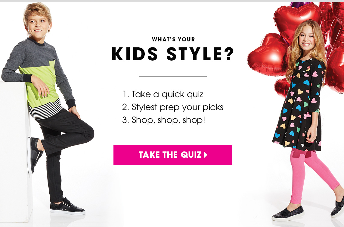 What's your kid's style? Take the quiz!