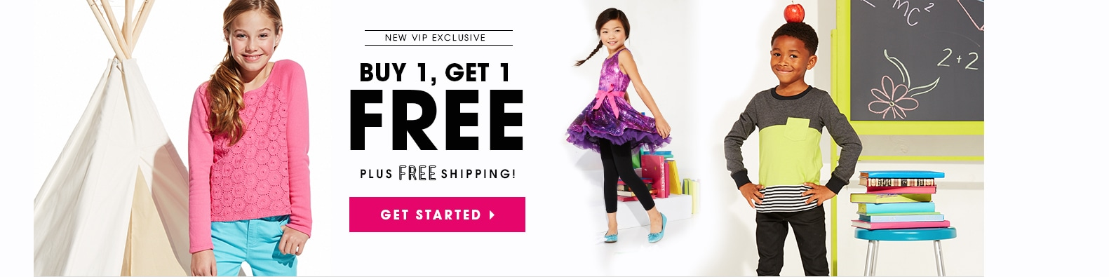 New Member Exclusive on Fab Kids Clothing