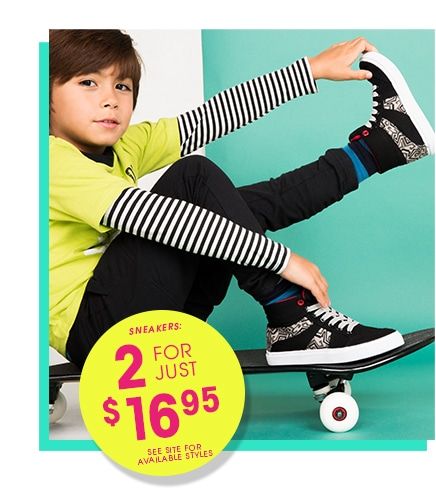Kids Shoes, Boots & Sandals from FabKids