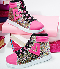 Sparkle High Tops