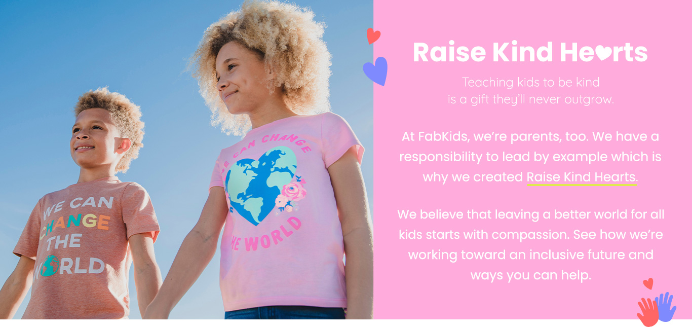 Raise Kind Hearts - Teaching kids to be kind is a gift they'll never outgrow.