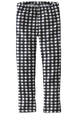 Knit Check Legging