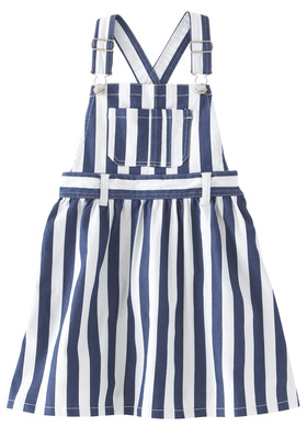 Denim Striped Skirtall