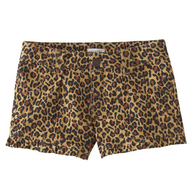 Animal Print Camp Short