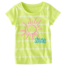 Shine Stripe Tee
