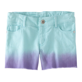 Dip Dye Cut-off Short