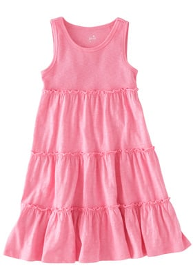 Easy Summer Tiered Dress