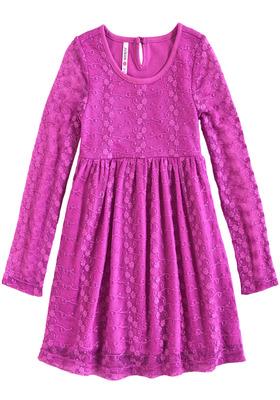 Autumn Lace Dress