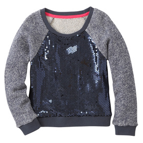 Sequins Front Sweatshirt