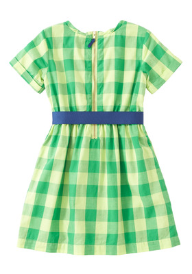 Checkered Ribbon Dress