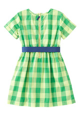 Checkered Ribbon Dress