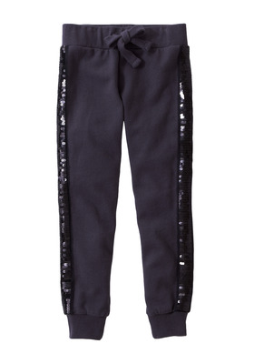 Sequin Side Knit Pant