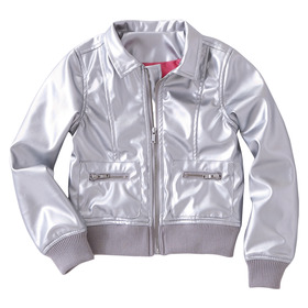 Silver Shiny Jacket