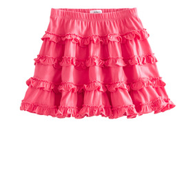 Ruffle Knit Skirt