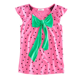 Strawberry Bow Top