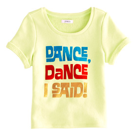 Dance On Graphic Top