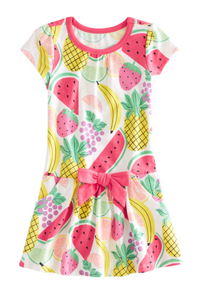 Drop Waist Fruit Dress