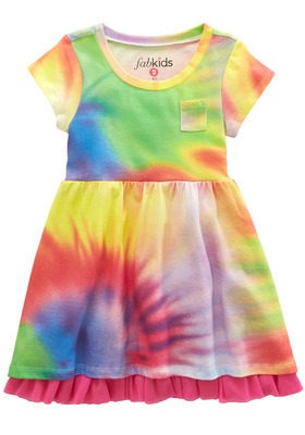 Tie Dye Knit Dress