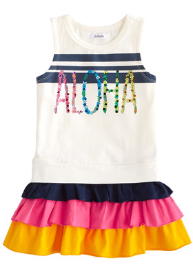 Aloha Ruffle Dress