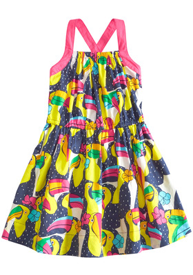Toucan Woven Dress