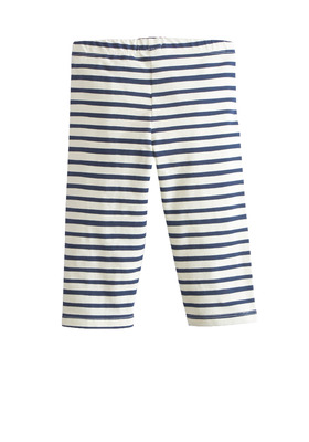 Fab Striped Capri Legging
